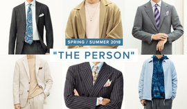 THE PERSON 2018 Spring / Summer