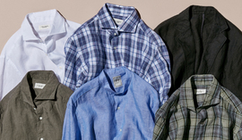 LINEN SHIRTS AND JACKETS
