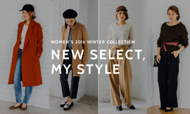 NEW SELECT,MY STYLE WOMEN'S 2016 WINTER COLLECTION