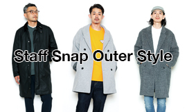 Staff Snap Outer Style