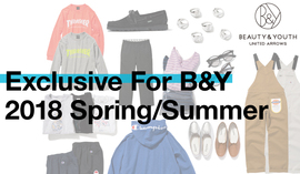 Exclusive For B&Y 2018 Spring/Summer