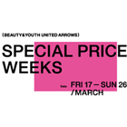 SPECIAL PRICE WEEKS