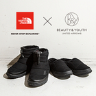 <THE NORTH FACE>の別注ヌプシシリーズが登場します。