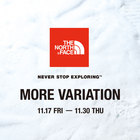 <THE NORTH FACE>モアバリエーションイベントを開催します。