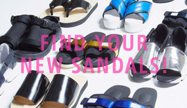 FIND YOUR NEW SANDALS!