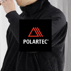 BLACK POLARTEC FABRIC