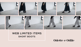 WEB LIMITED ITEMS~SHORT BOOTS~