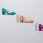 CHUNKY HEEL PUMPS NEW COLOR