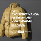 F/CE×NANGA for Steven Alan
