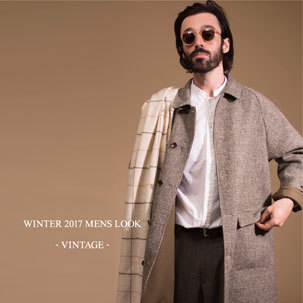 WINTER 2017 MENS LOOK - VINTAGE -
