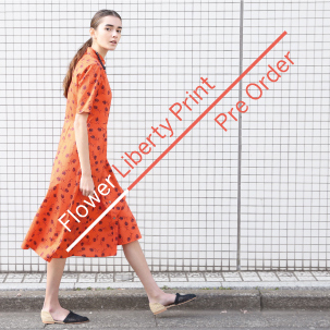 【Pre Order】<Steven Alan>Flower Liberty Print Collection