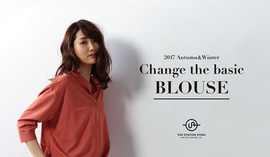 "2017 Autumn&Winter ""Change the basic BLOUSE"""