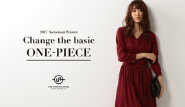 "2017 Autumn&Winter ""Change the basic ONE-PIECE"""