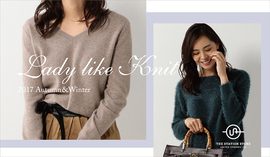 "2017 Autumn&Winter ""Lady like Knit"""