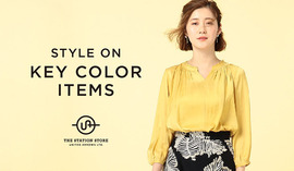 "2018 SPRING  ""STYLE ON KEY COLOR ITEMS"""