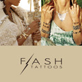 """FLASH TATTOOS"" makes your dressy"