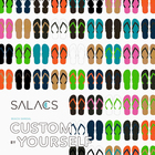 SALACS BEACH SANDAL CUSTOM BY YOURSELF 開催!