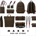 "MARNI × PORTER #10 EXPLORER COLLECTION NEW COLOR RELEASE ""RED"""