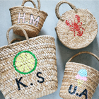 "Ethnic Market ""MAKE YOUR BASKET BAG"""