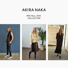 AKIRA NAKA 2018 PRE FALL COLLECTION
