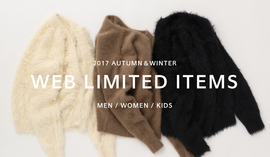 WEB LIMITED ITEMS - 2017 AUTUMN & WINTER -
