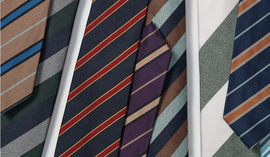 PUT ON A STRIPE TIE