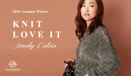 "2018 Autumn & Winter ""KNIT  LOVE IT"""