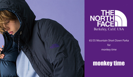 THE NORTH FACE PURPLE LABEL monkey time Exclusive