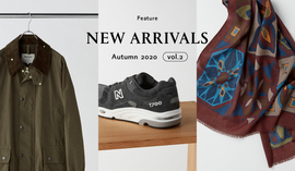NEW ARRIVALS Autumn 2020 vol.2