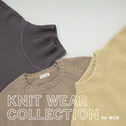 FOCUS:KNIT WEAR COLLECTION for MEN