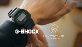 <G-SHOCK>×<BEAUTY&YOUTH>