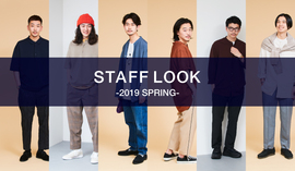 STAFF LOOK -2019 SPRING-