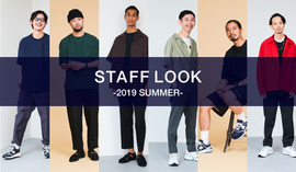STAFF LOOK -2019 SUMMER-