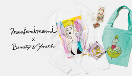 <maegamimami>for<BEAUTY&YOUTH>EXCLUSIVE COLLECTION