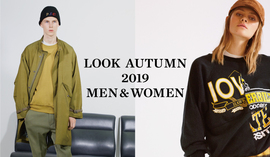 LOOK AUTUMN 2019 MEN&WOMEN