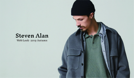 Steven Alan MEN'S Web Look 2019 Autumn