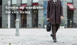 Grown-up wardrobe for city living