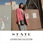 <STATE>LEATHER BAG COLLECTION