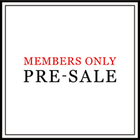 MEMBERS ONLY PRE-SALEのお知らせ