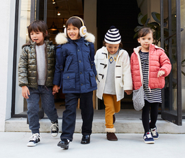 BRIGHT COLOR OUTER for KIDS