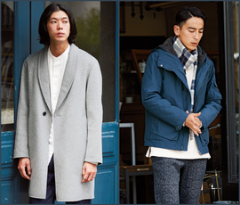 LIGHT OUTER STYLE 2016 FALL&WINTER MEN'S