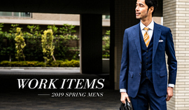 WORK ITEMS -2019 SPRING MENS-