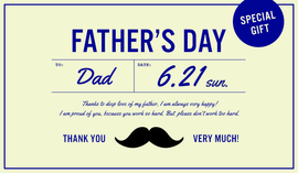 FATHER'S DAY - 2020.6.21 sun. -