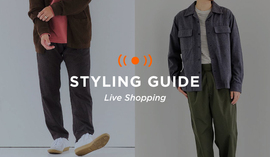 "MENS LIVE ""STYLING GUIDE"" 9/17 20:00~"