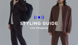 "MENS LIVE ""STYLING GUIDE"" 9/24 20:00~"