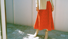【EMMEL REFINES】Essential items -SKIRT-