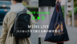 "MENS LIVE ""STYLING GUIDE"" 2/7 11:00~ & 15:00~"