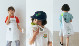MOS BURGER × green label relaxing kids