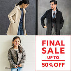 【MAX50%OFF】★ Autumun & Winter FINAL SALE 開催★