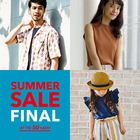 【MAX50%OFF】★SUMMER SALE FINAL START★